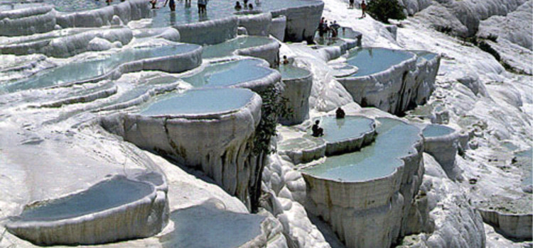 The Natural Wonders Of Pamukkale and Hierapolis